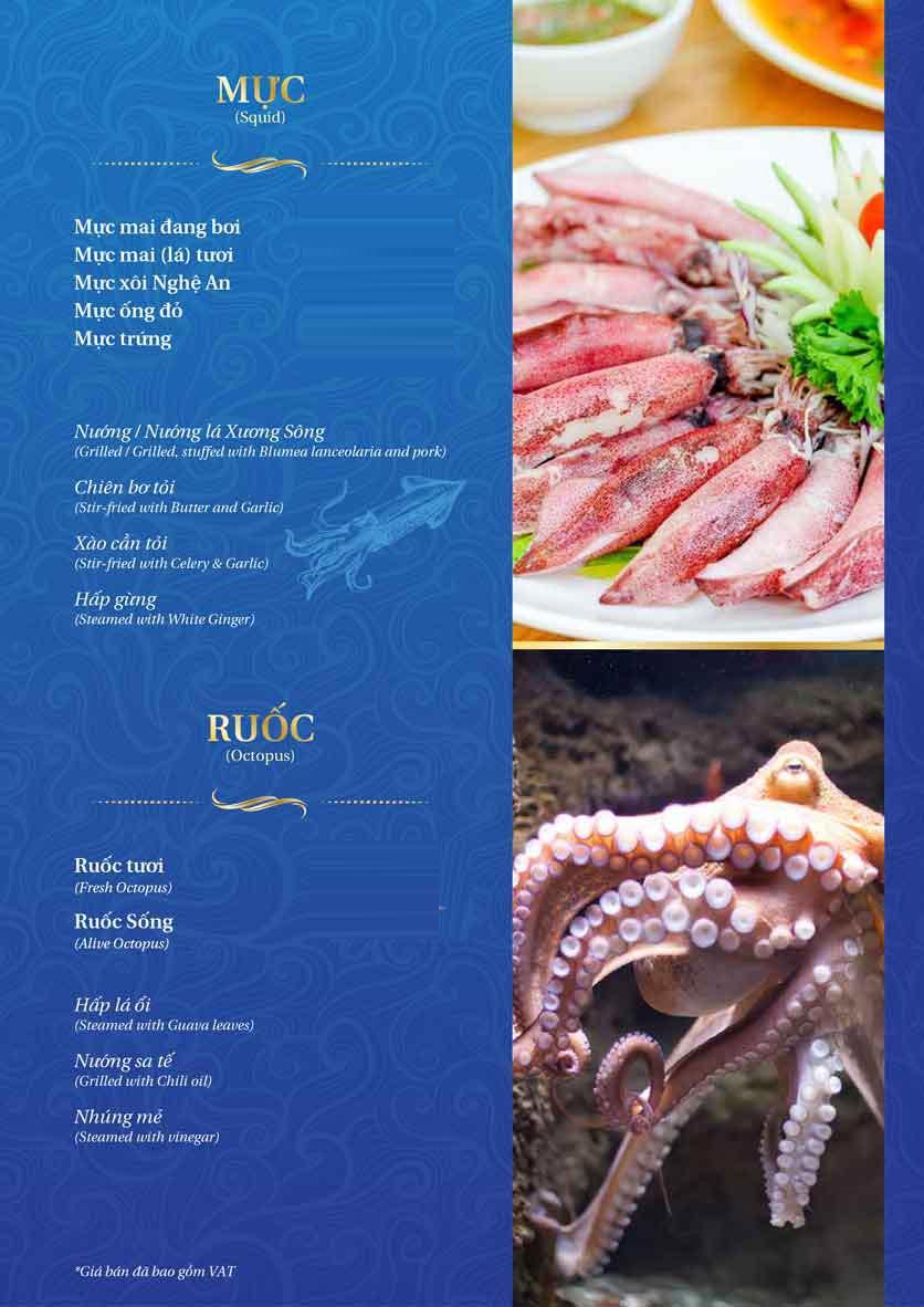 Menu Thế Giới Hải Sản - Thái Thịnh 15