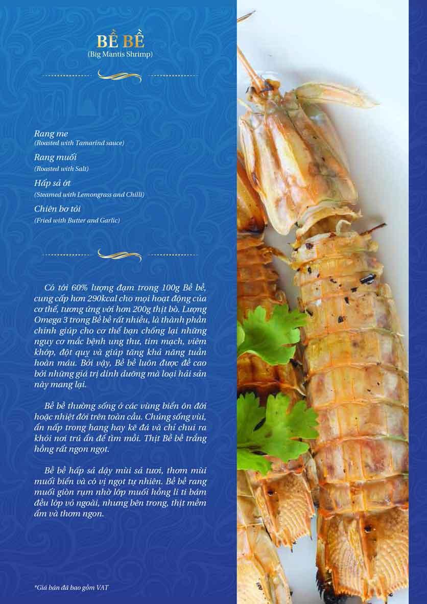 Menu Thế Giới Hải Sản - Thái Thịnh 19