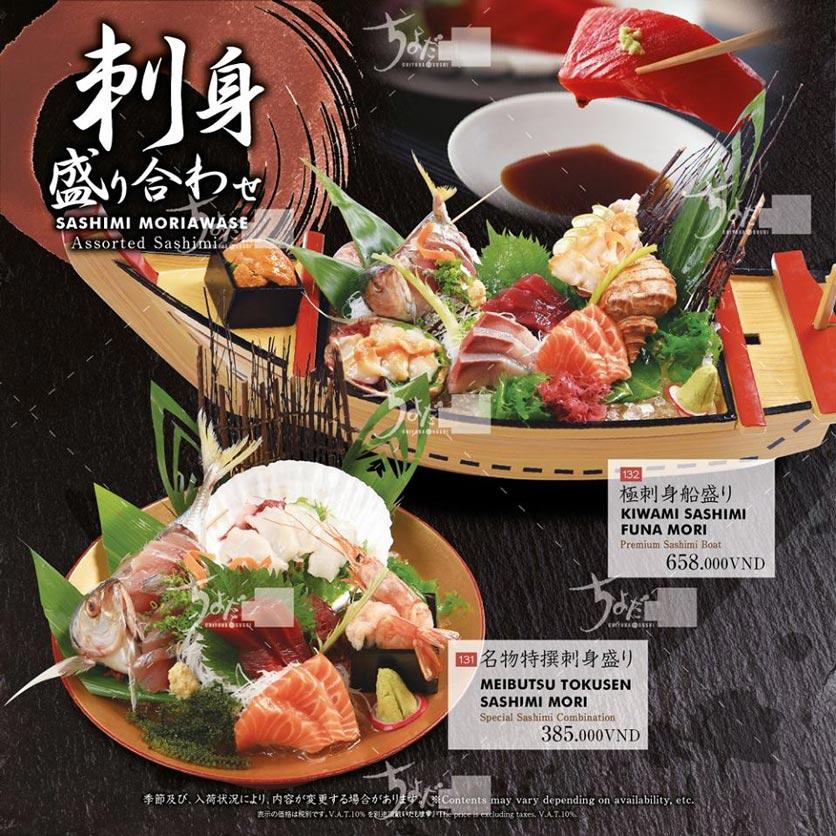 Menu Chiyoda Sushi - Pasteur 3