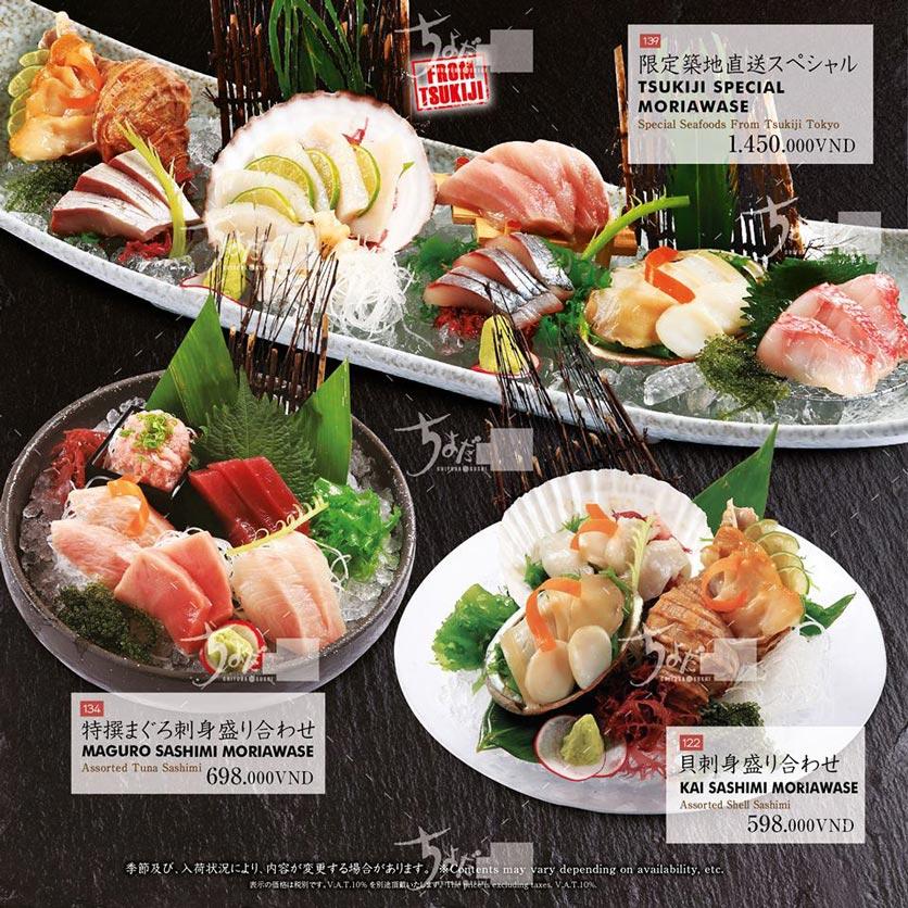 Menu Chiyoda Sushi - Pasteur 5