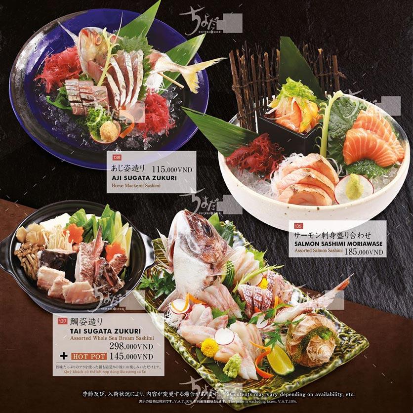 Menu Chiyoda Sushi - Pasteur 6