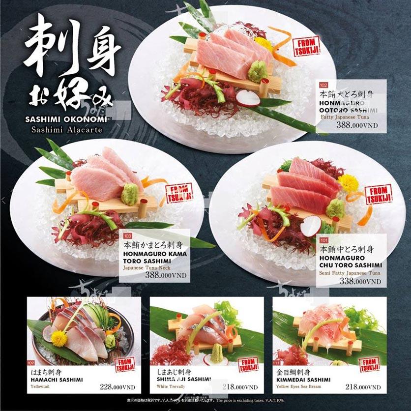 Menu Chiyoda Sushi - Pasteur 7
