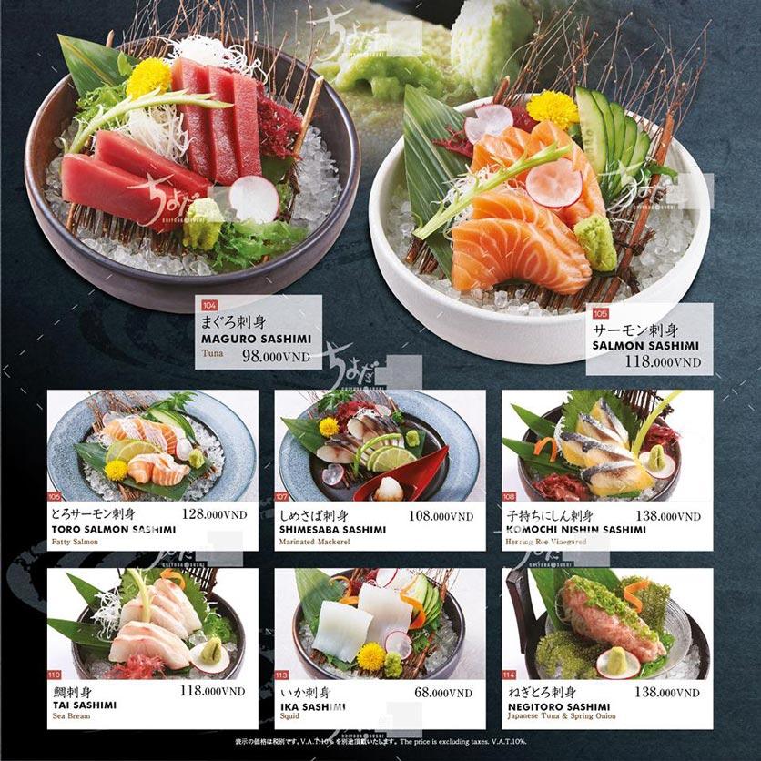 Menu Chiyoda Sushi - Pasteur 8
