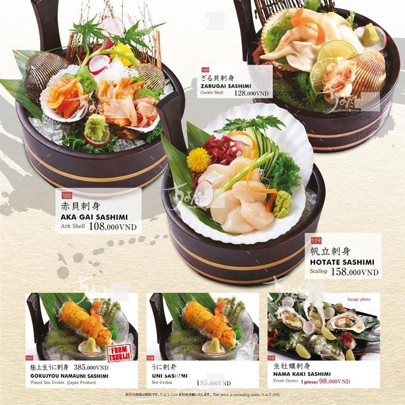 Menu Chiyoda Sushi - Pasteur 9