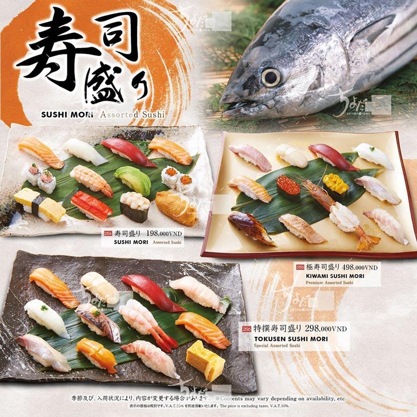 Menu Chiyoda Sushi - Pasteur 11