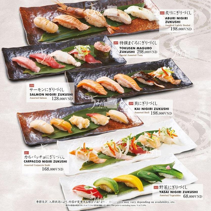 Menu Chiyoda Sushi - Pasteur 12