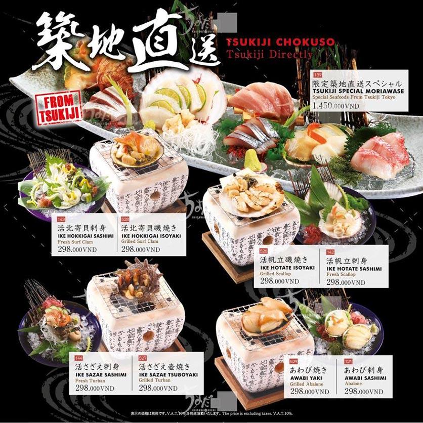 Menu Chiyoda Sushi - Pasteur 19