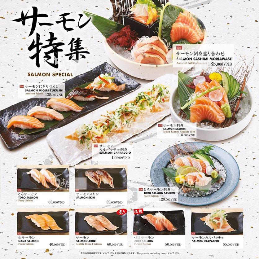Menu Chiyoda Sushi - Pasteur 21