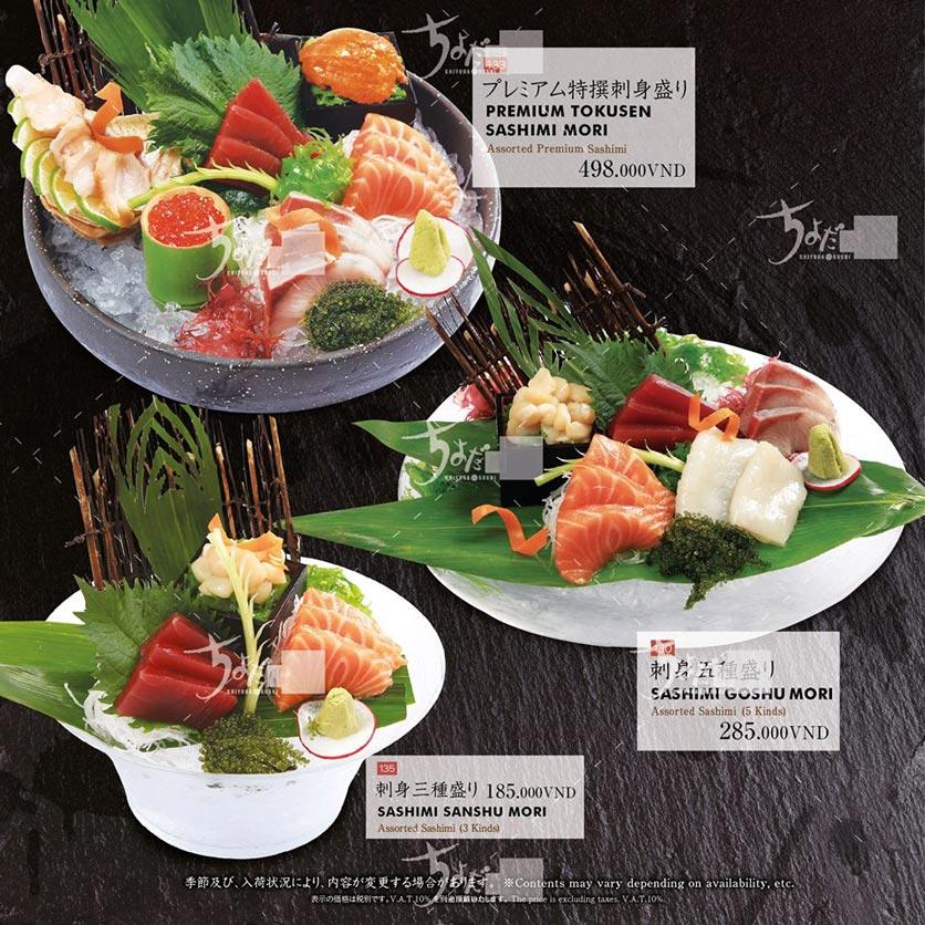 Menu Chiyoda Sushi - Pasteur 4