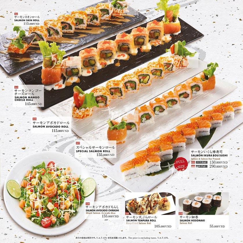 Menu Chiyoda Sushi - Pasteur 22