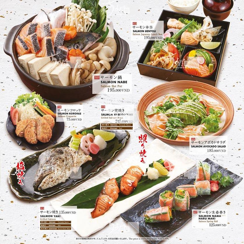 Menu Chiyoda Sushi - Pasteur 23