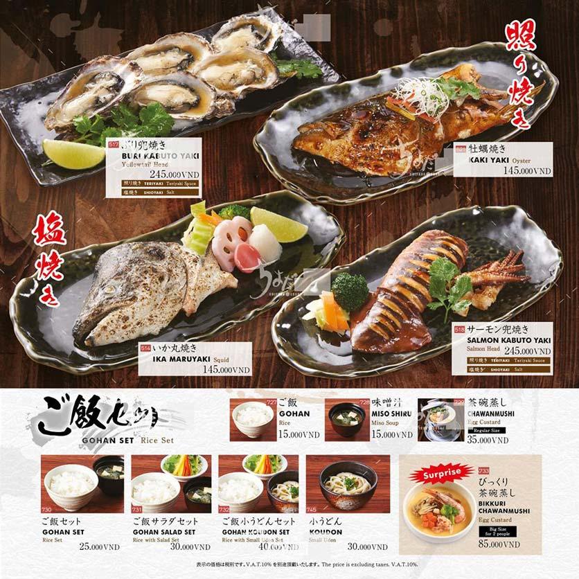 Menu Chiyoda Sushi - Pasteur 26