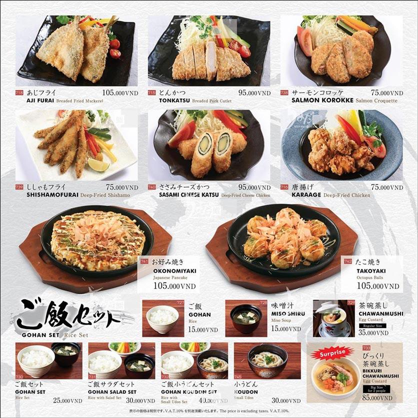 Menu Chiyoda Sushi - Pasteur 34