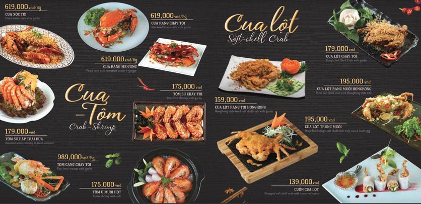 Menu Hoàng Yến Cuisine – Lê Duẩn  3