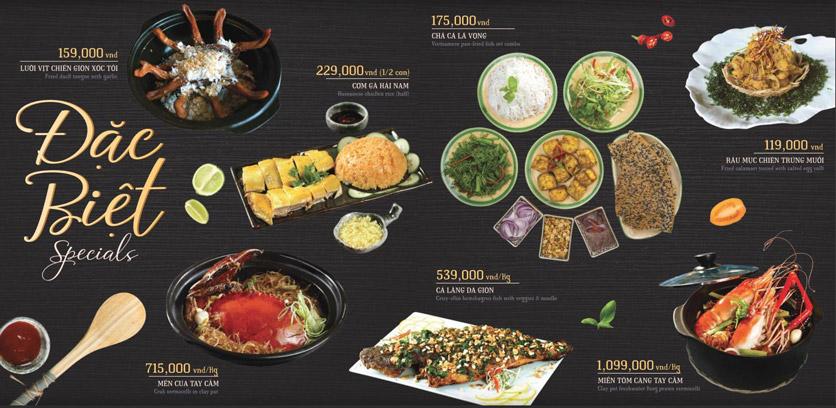 Menu Hoàng Yến Cuisine – Lê Duẩn  4