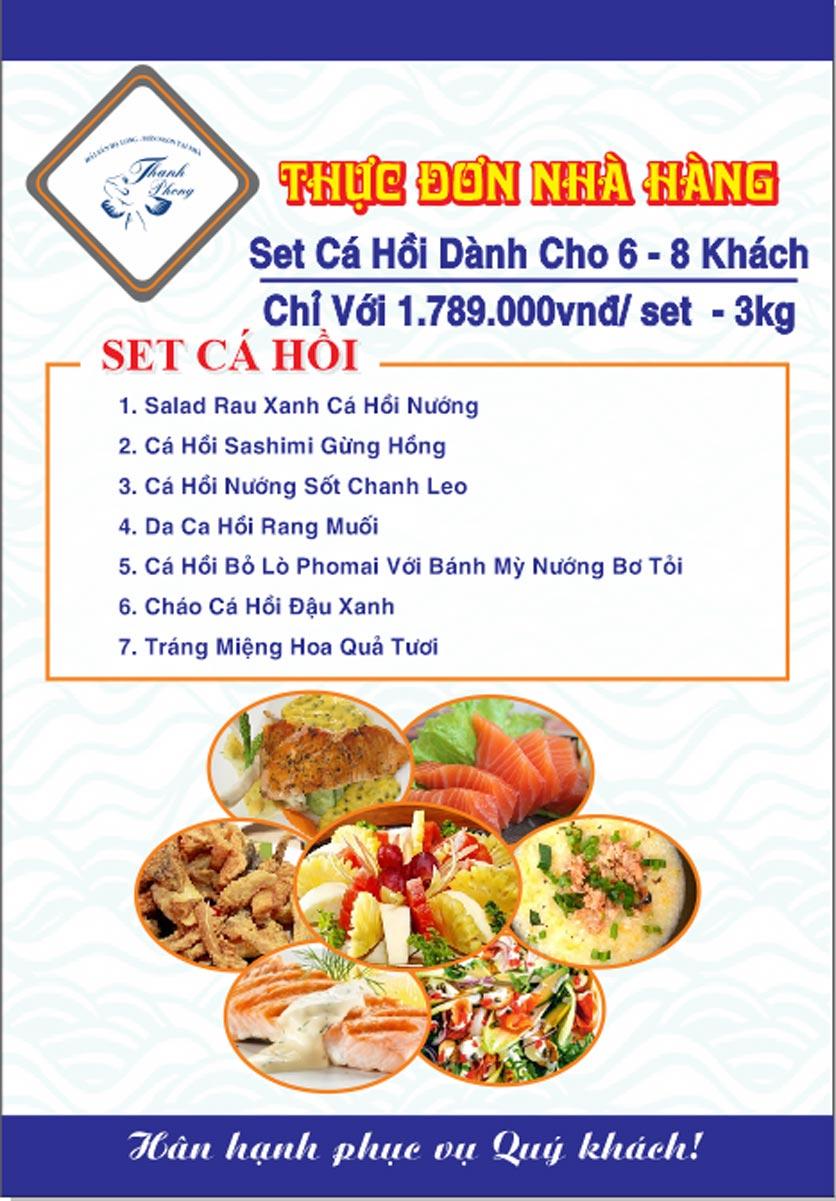 Menu Hải sản Thanh Phong - Đường K2 - Cầu Diễn   36