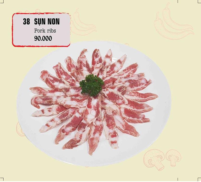 Menu IPOT – Lẩu Hồng Kông - Nguyễn Hoàng 25