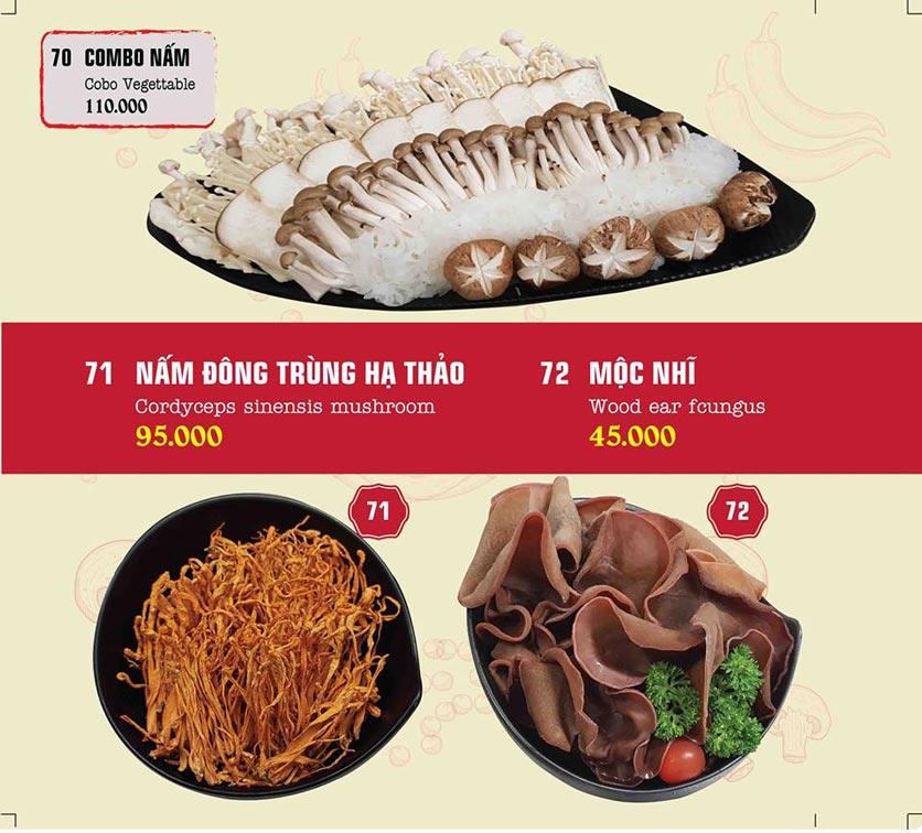 Menu IPOT – Lẩu Hồng Kông - Nguyễn Hoàng 37