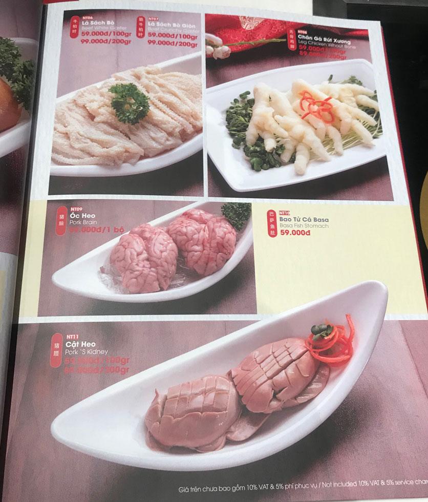 Menu Lẩu Hồng Kông - Hoàng Văn Thụ (Khách sạn Tân Sơn Nhất) 12