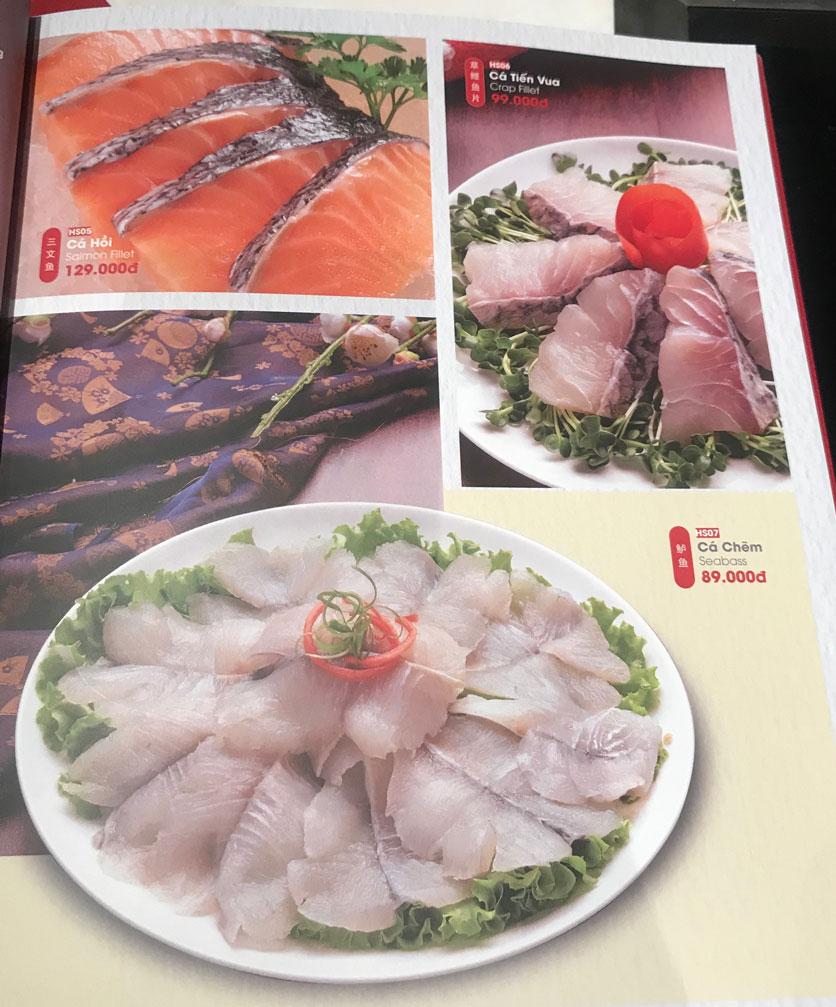 Menu Lẩu Hồng Kông - Hoàng Văn Thụ (Khách sạn Tân Sơn Nhất) 14