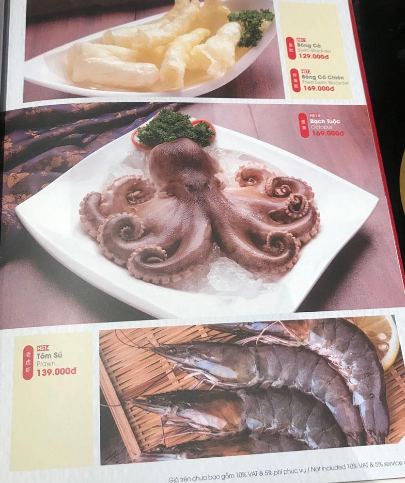 Menu Lẩu Hồng Kông - Hoàng Văn Thụ (Khách sạn Tân Sơn Nhất) 16