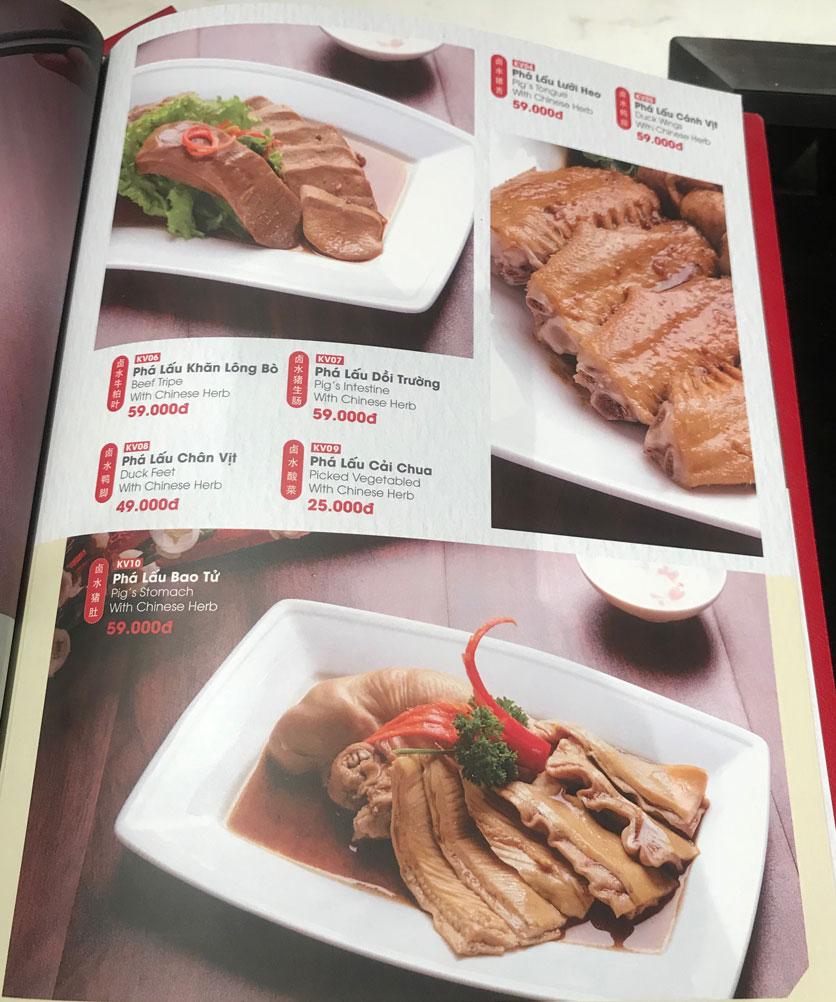 Menu Lẩu Hồng Kông - Hoàng Văn Thụ (Khách sạn Tân Sơn Nhất) 24
