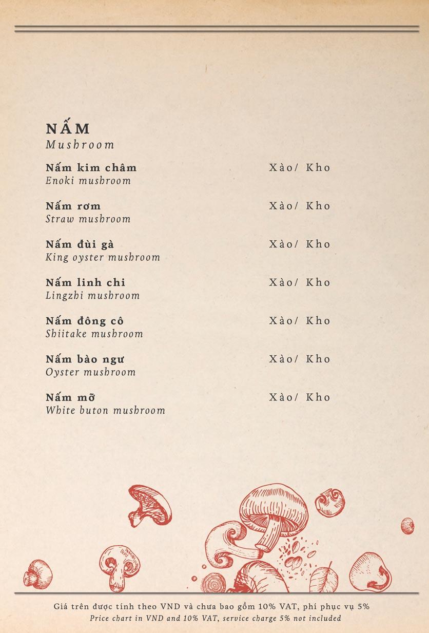 Menu Maison Mận – Đỏ - Nguyễn Ư Dĩ   9