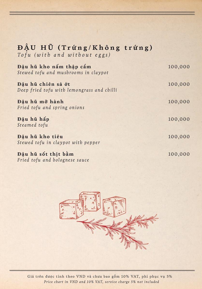 Menu Maison Mận – Đỏ - Nguyễn Ư Dĩ   13