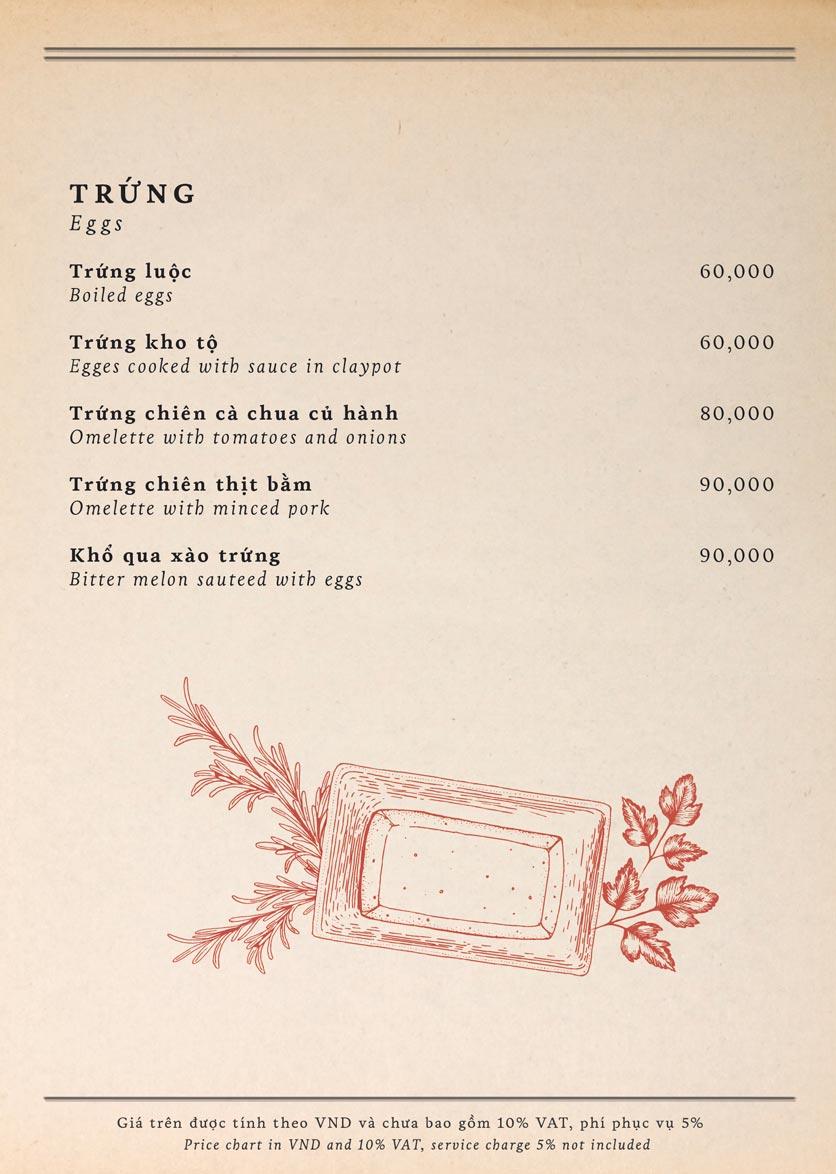 Menu Maison Mận – Đỏ - Nguyễn Ư Dĩ   14