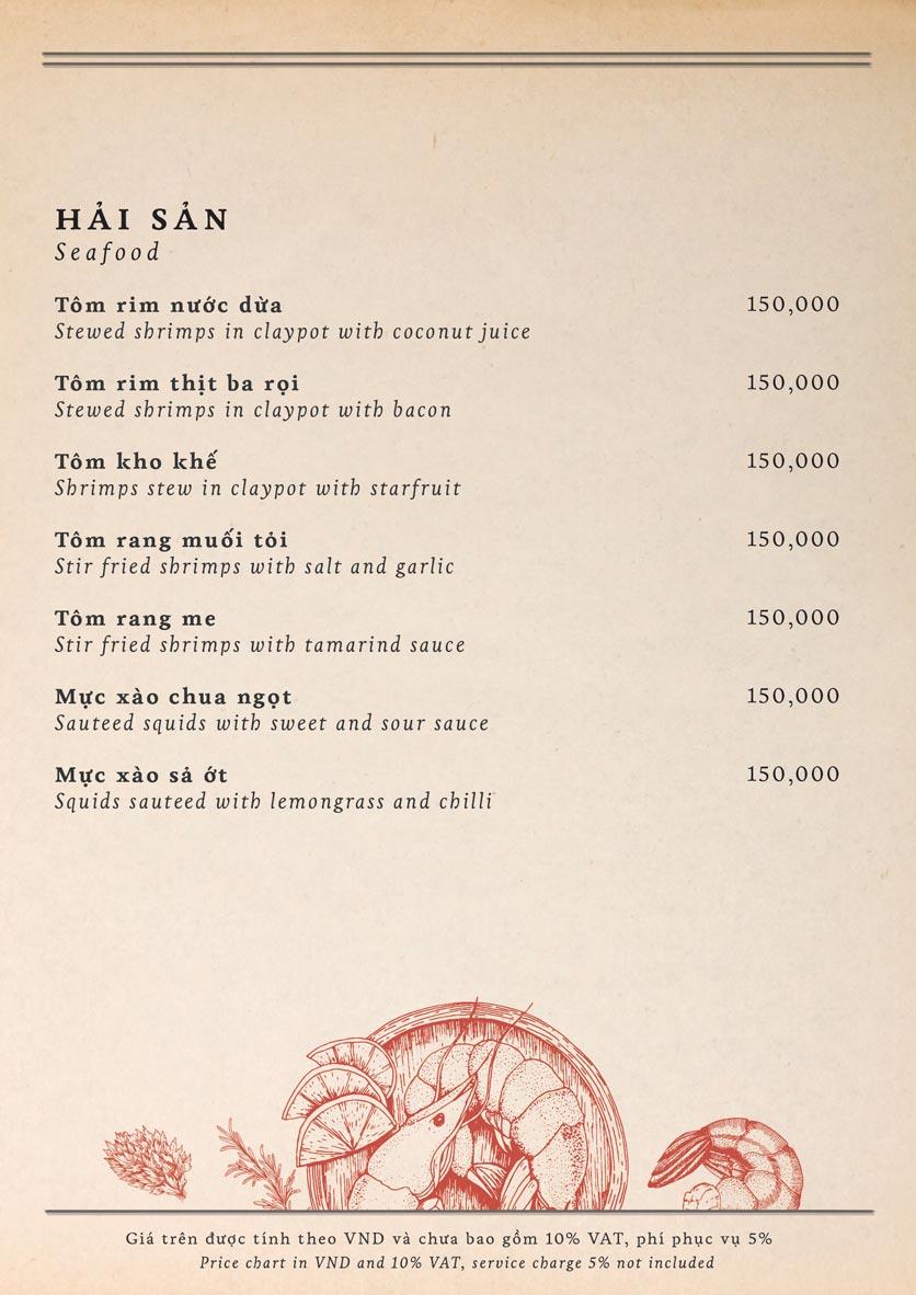 Menu Maison Mận – Đỏ - Nguyễn Ư Dĩ   17