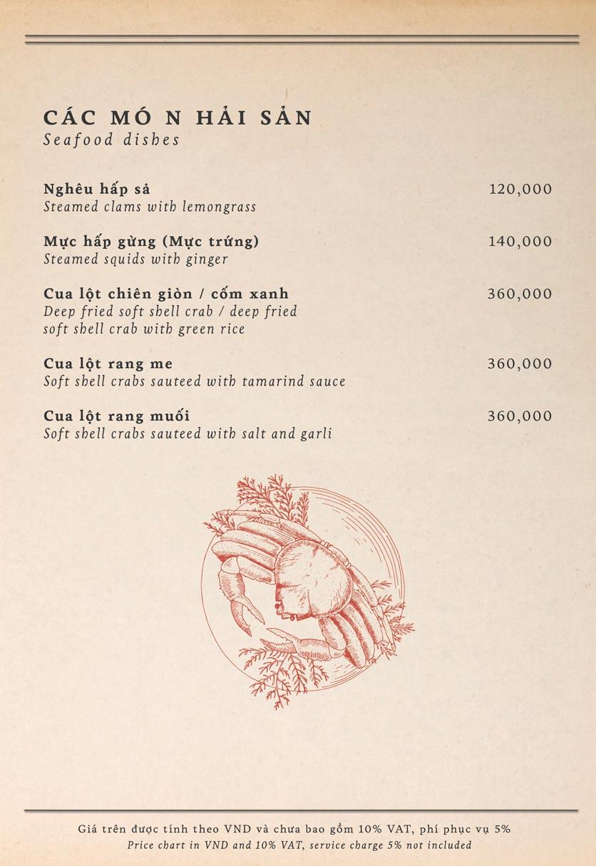 Menu Maison Mận – Đỏ - Nguyễn Ư Dĩ   28
