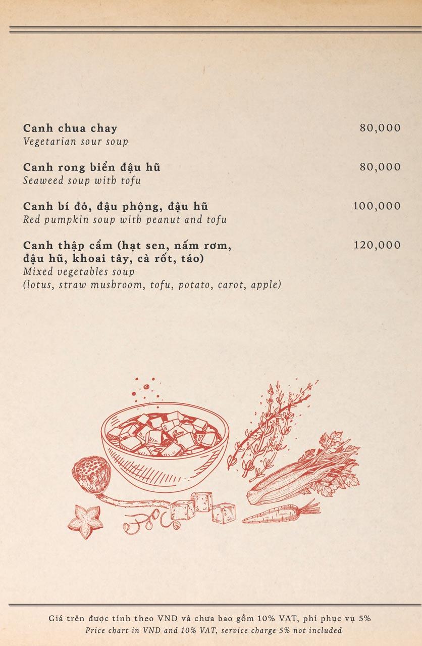Menu Maison Mận – Đỏ - Nguyễn Ư Dĩ   35