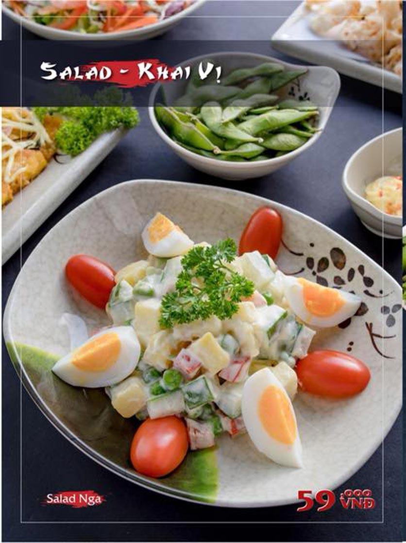 Menu Mura BBQ & Hotpot – The K Park - KĐT Văn Phú 3