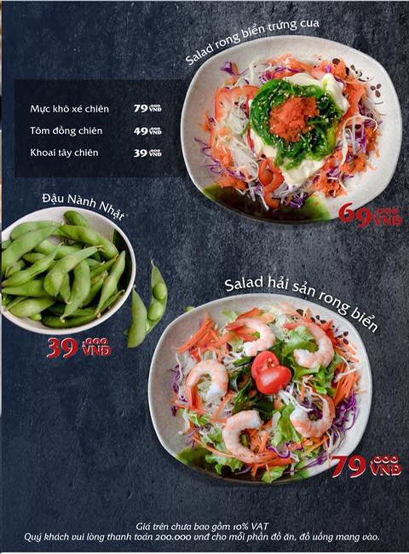 Menu Mura BBQ & Hotpot – The K Park - KĐT Văn Phú 4