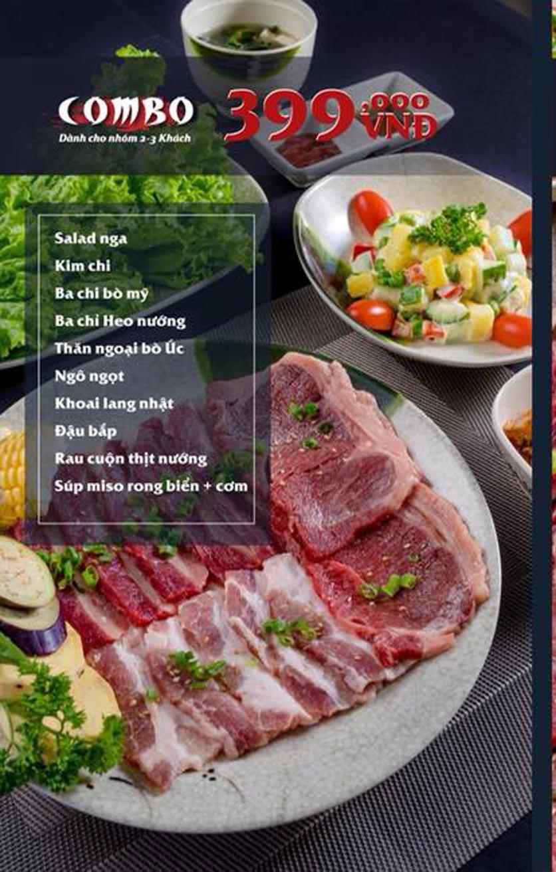 Menu Mura BBQ & Hotpot – The K Park - KĐT Văn Phú 5