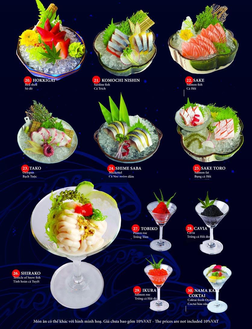 Menu New Sake - 48 Đào Tấn 5