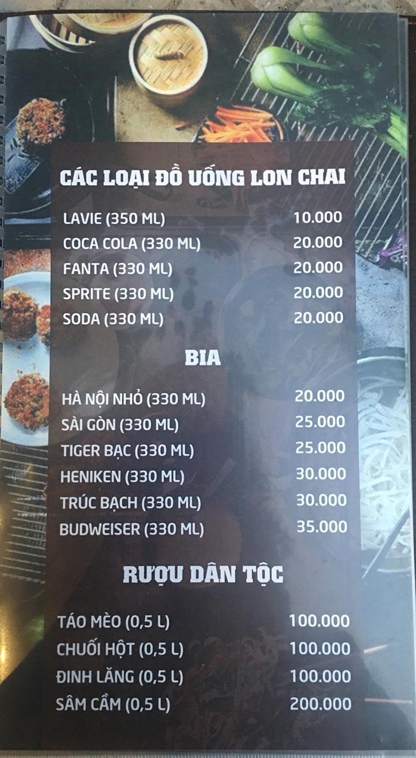 Menu Quý Cò – Nguyễn Huy Tưởng  8