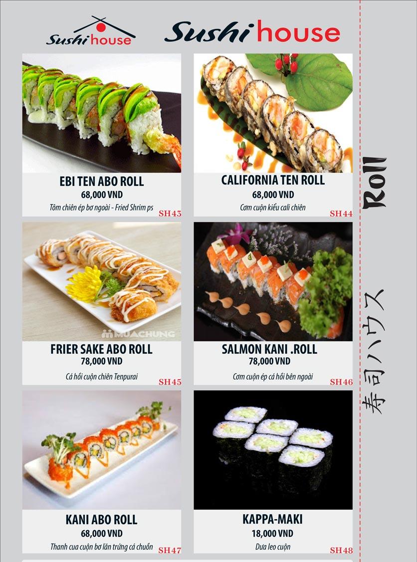 Menu Sushi House – Trương Quốc Dung 8