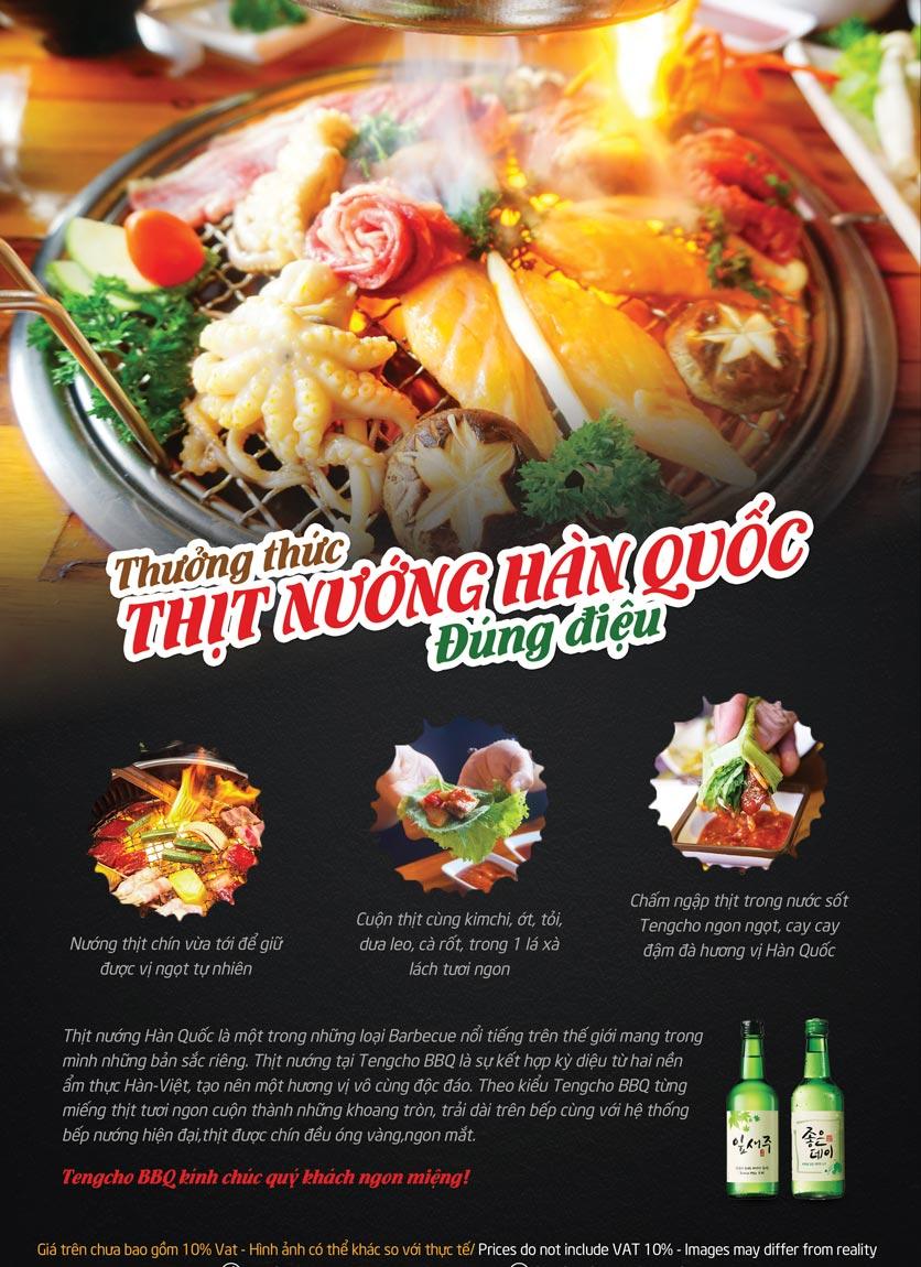 Menu Tengcho BBQ – Linh Đàm 7