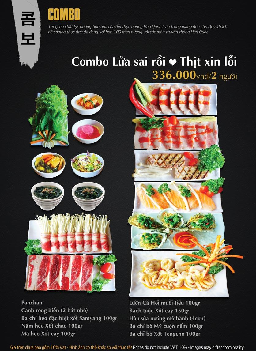 Menu Tengcho BBQ – Linh Đàm 11