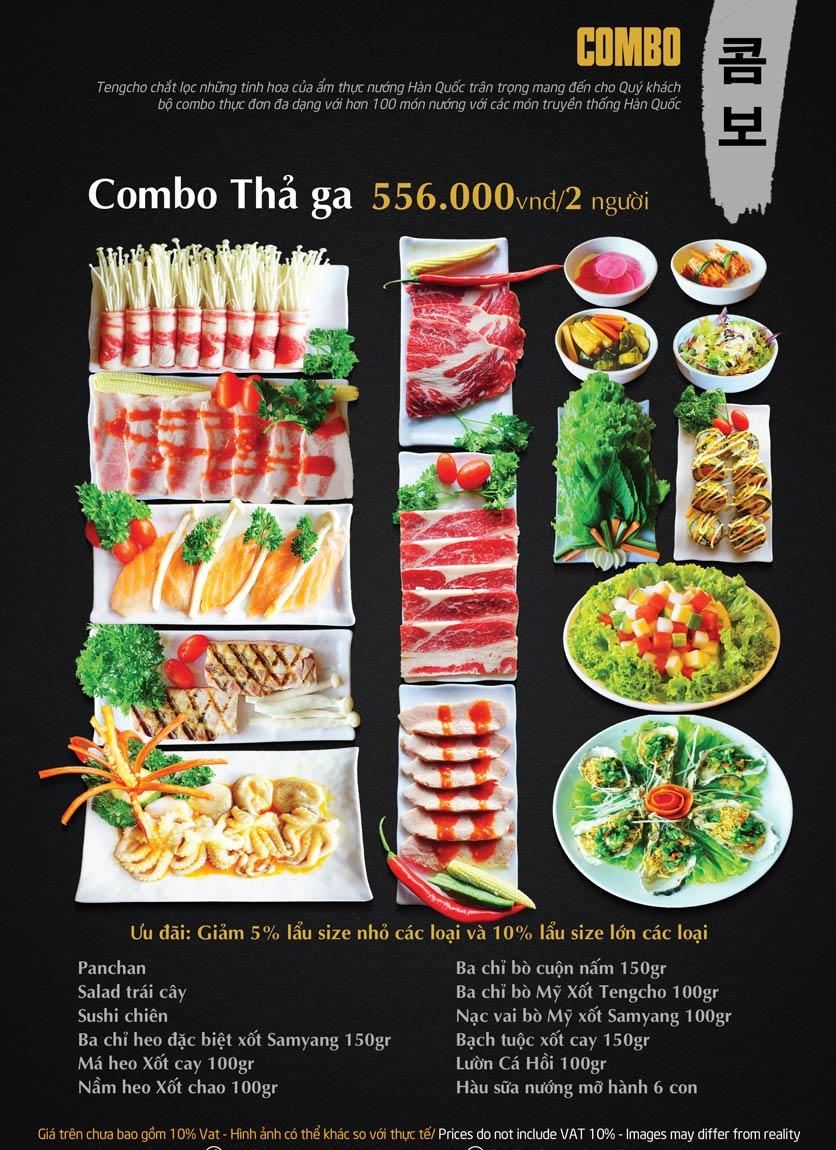 Menu Tengcho BBQ – Linh Đàm 12