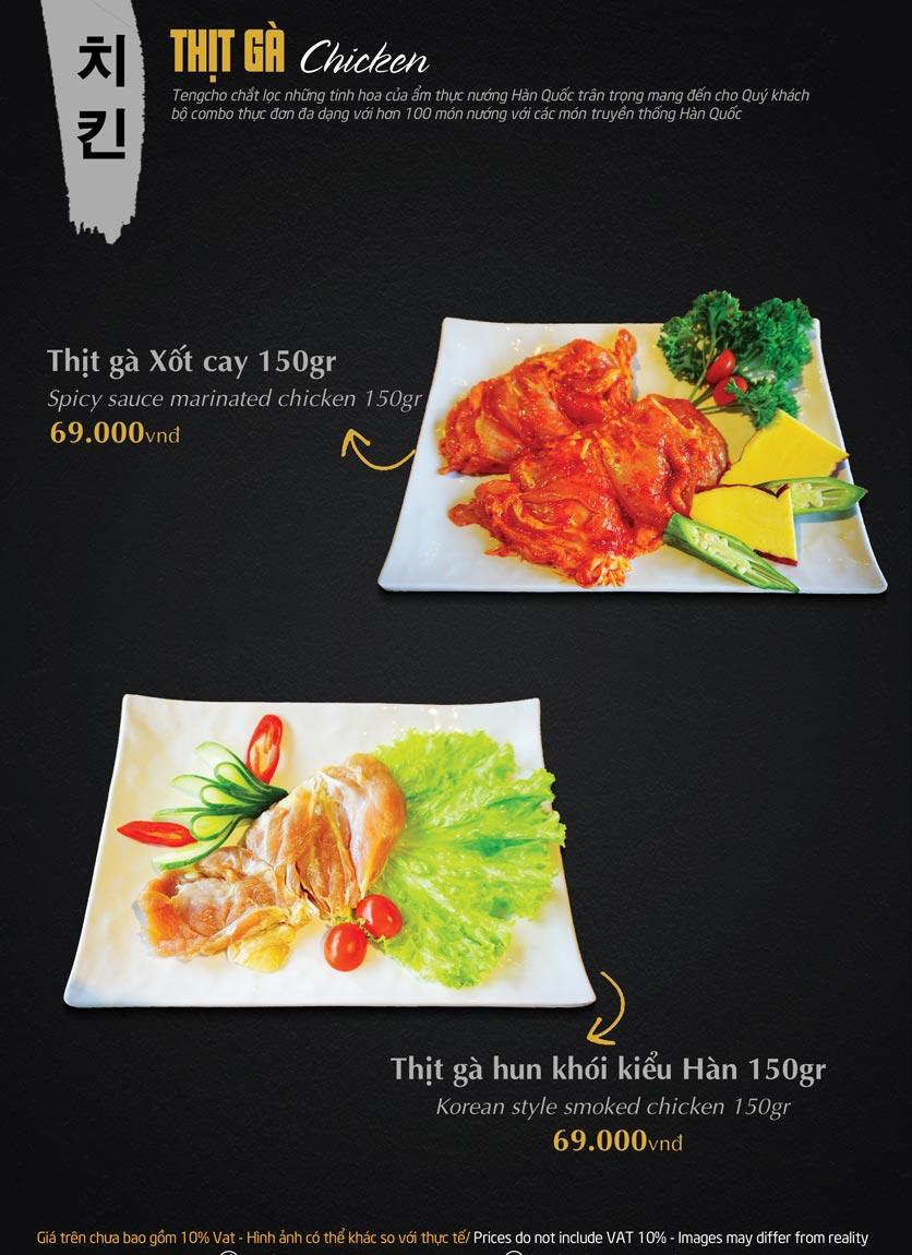 Menu Tengcho BBQ – Linh Đàm 15
