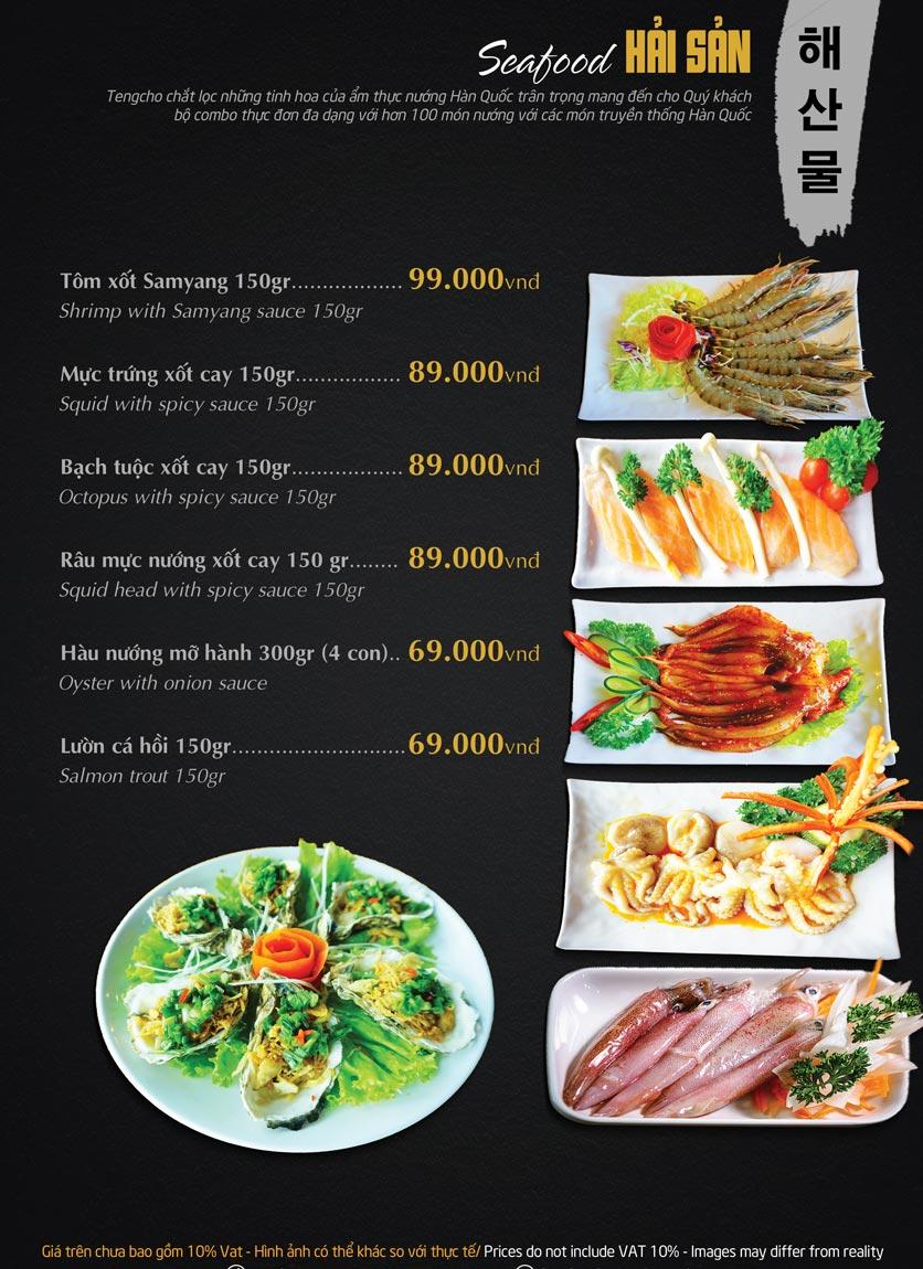 Menu Tengcho BBQ – Linh Đàm 16