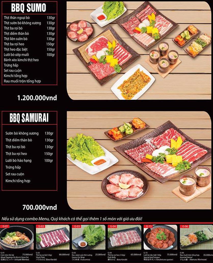 Menu Tokori BBQ - Ngô Quyền 37
