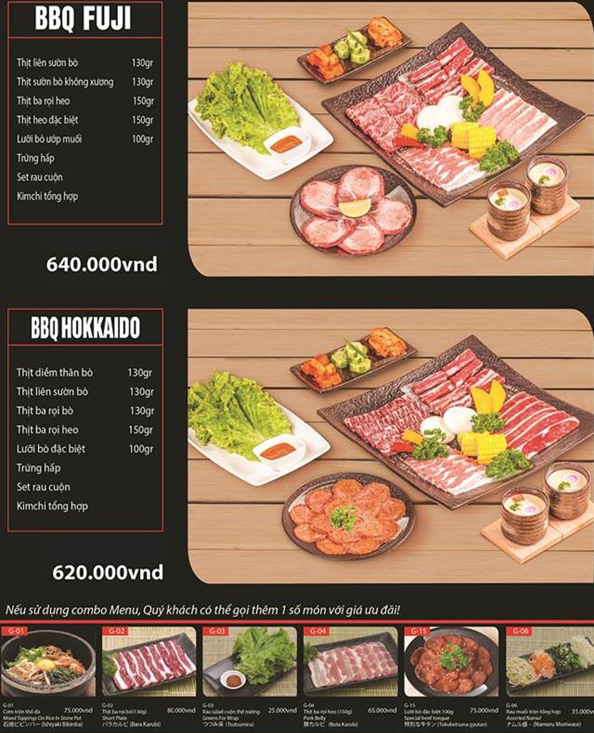 Menu Tokori BBQ - Ngô Quyền 38