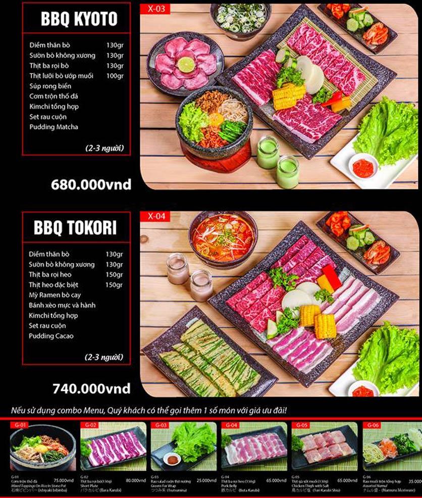 Menu Tokori BBQ - Ngô Quyền 40