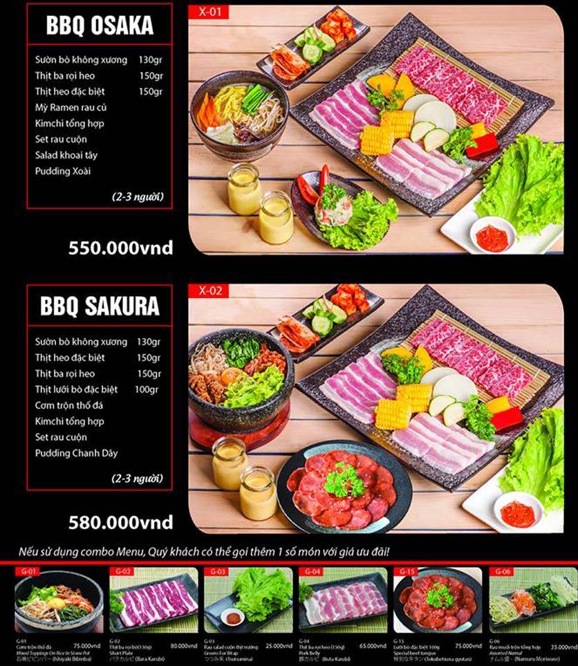 Menu Tokori BBQ - Ngô Quyền 41