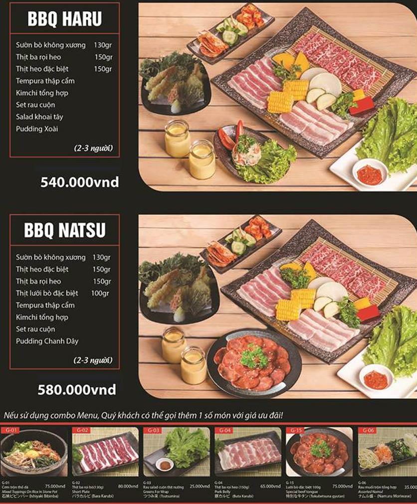 Menu Tokori BBQ - Ngô Quyền 43