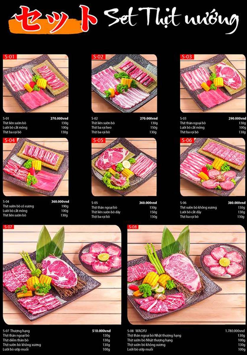 Menu Tokori BBQ - Ngô Quyền 44