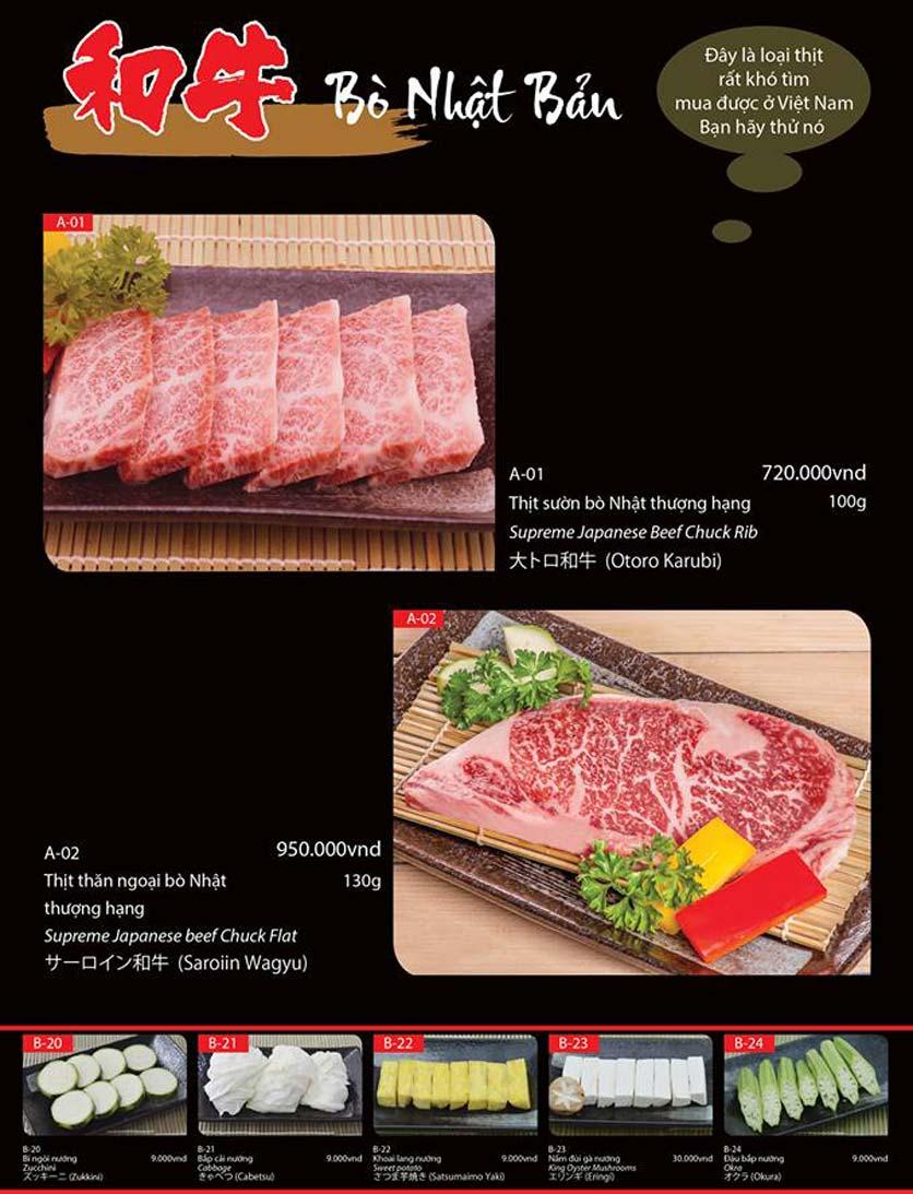 Menu Tokori BBQ - Ngô Quyền 47